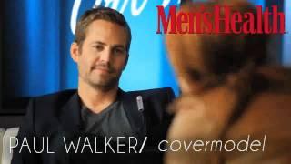 Пол Уокер, Paul Walker Interview w/ Men's Health Netherlands at Cool Water Launch