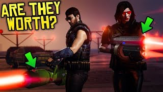 GTA Online - NEW LAZER GUNS RELEASED! Are They Worth $1,000,000?