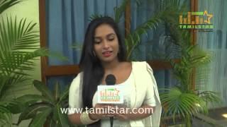 Swathi Shanmugam at Thiru Vi Ka Poonga Movie Team Interview
