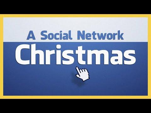 La naissance de Jésus sur Facebook [anglais]