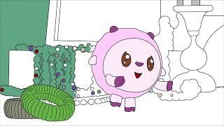 Малышарики - Раскраска для детей - Музыка
