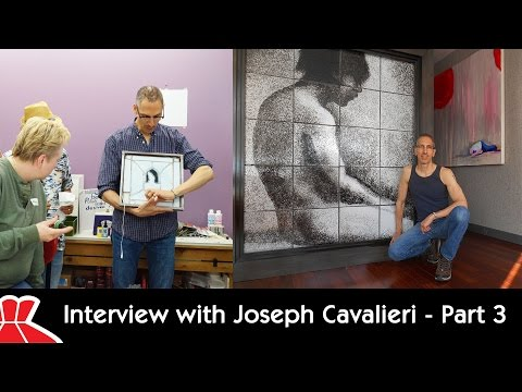 Interview with Glass Artist Joseph Cavalieri - Part 3