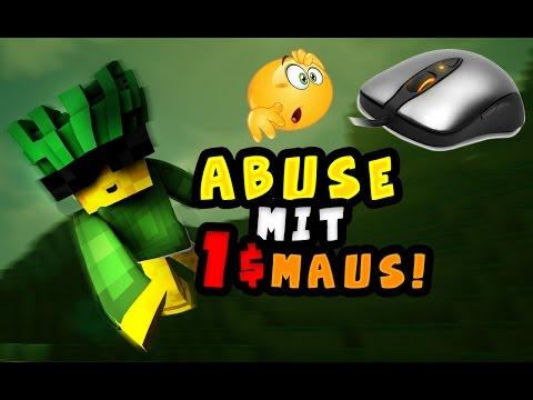 GEHT MOUSE ABUSE MIT EINER 1€ MAUS?! | DIE BILLIGSTE MAUS DER WELT IM TEST! |Handcam!]