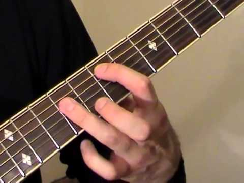 E Guitar Chord (E major chord guitar lesson)