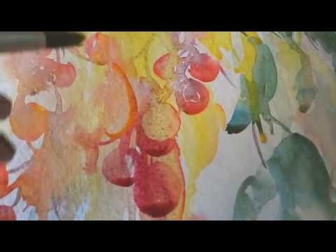 A Minute of the Brush: Watercolour Video