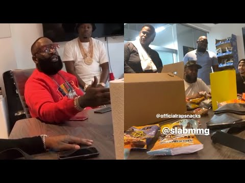 Rick Ross Has A Billion Dollar Meeting With Rap Snacks CEO