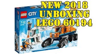 LEGO 60194 Arktis-Erkundungstruck der LEGO City Arctis Expedition 2018 - Unboxing + Preview