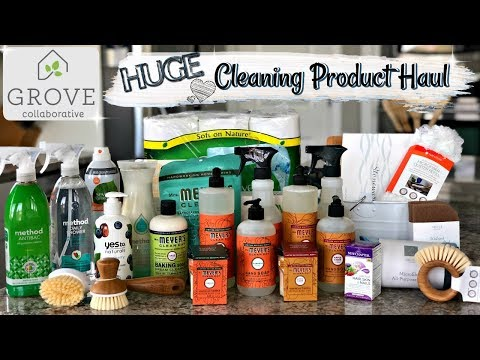 HUGE FALL GROVE COLLABORATIVE HAUL 2018 :: NATURAL & NON TOXIC CLEANING PRODUCT UNBOXING