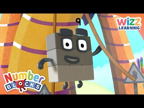 Numberblocks - Swinging By | Learn to Count | Wizz Learning