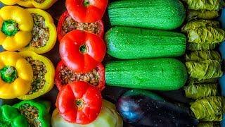 4 вкусных блюда из любимых овощей фаршированных мясом. Рецепты от Всегда Вкусно!