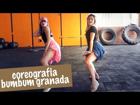 coreografia bumbum granada mcs zaac e jerry passo a passo co