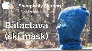 Addi Express Balaclava Ski Mask Tutorial