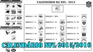 Calendário da NFL e como funciona - All Madden Brasil.