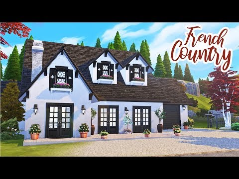 Building A Real French Home || The Sims 4: Speed Build