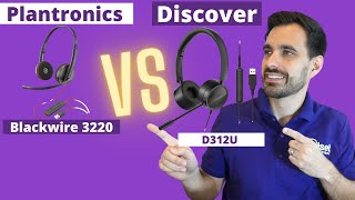 SHOWDOWN Plantronics Blackwire 3220 vs Discover D312U - LIVE MIC & SPEAKER TEST!