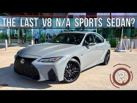 2022 Lexus IS 500 F-Sport Performance Launch Edition – Redline: First Look