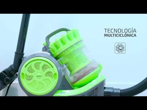 Aspiradora Conga Ciclonic Cord Rewinder Cecotec