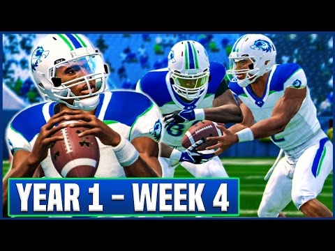 WALKER'S FIRST START - NCAA Football 14 Teambuilder Dynasty Year 1 - Week 4 vs Colorado State | Ep.7