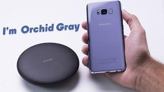 Galaxy S8 Orchid Gray: самый ОРГАЗМИЧНЫЙ среди смартфонов!