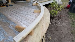 How to Make a Curved Railing (No Steam Required)
