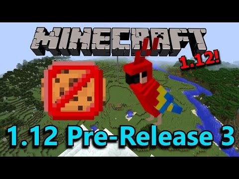 Minecraft 1.12 Pre-Release 3- Poisonous Cookies, New Advancements!