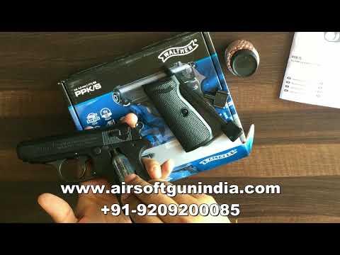 Umarex Walther Ppk/s co2 4,5 mm  steel bb - смотреть онлайн