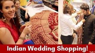 My Wedding Shopping In India | Americans Shopping Indian Wedding Dresses In Mumbai | Youtube Meetup