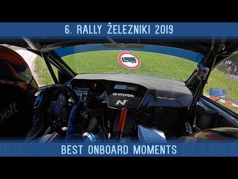 6. rally Železniki 2019 | Best onboard moments | Rok Turk - Blanka Kacin (Hyundai i20 R5)