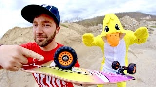 OFF ROAD SKATE WHEELS / Duck Game Of S.K.A.T.E.