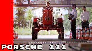 Taking a Porsche 111 Tractor To Porsche Service