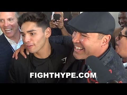 """I THOUGHT WE WERE BOYS"" - DE LA HOYA TELLS RYAN GARCIA HOW HIS TWEETS MADE HIM FEEL"