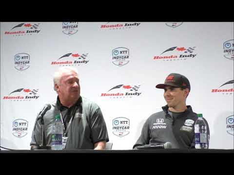 Honda Indy Toronto Robert Wickens Q&A
