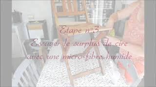 Tuto n 1: nettoyer un meuble ciré