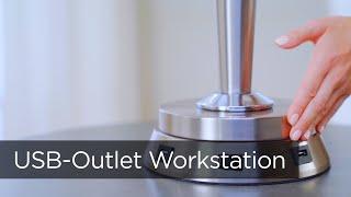 Universal Charging USB Outlet Workstation