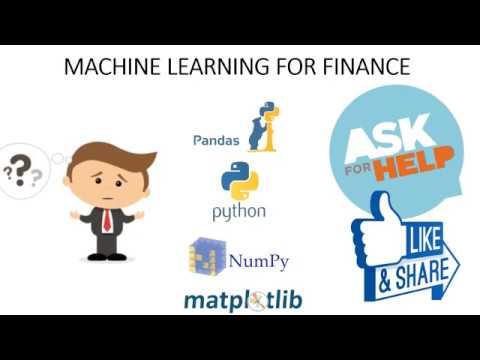 This is just sample video, Part 3 of a series of videos I created teaching students Machine Learning for Finance using Python