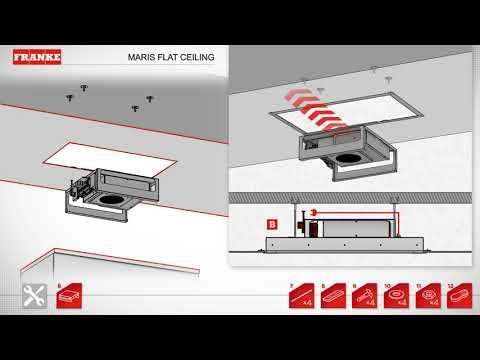 Franke Hoods Maris Flat Ceiling Installation