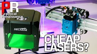 Comparing inexpensive Laser engravers: the Decaker 1.5W laser and Eleksmaker A3 Pro 2.5W