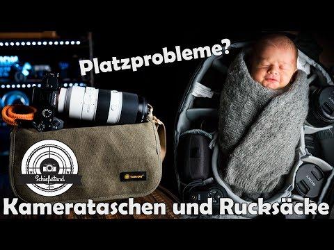 📷 Kamera-Taschen und Rucksäcke im Vergleich - (TENBA, TARION, MANFROTTO, LOWEPRO)