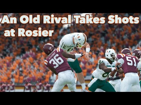 NCAA Football Dynasty Mode | An Old Rival Targets Rosier | Its All About The U Epi 53