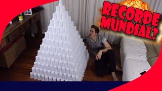 RECORDE MUNDIAL - MAIOR TORRE DE COPOS DO MUNDO?