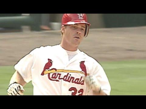 Keith McDonald belts a homer in his first MLB at-bat