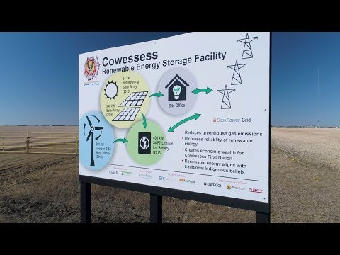 The Cowessess Renewable Energy Storage Facility