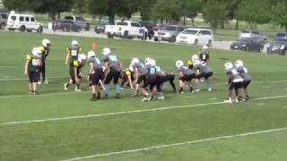 62x8 Defense and PW Beast Offense for Youth Football KYA FB Sr. Panther Highlights