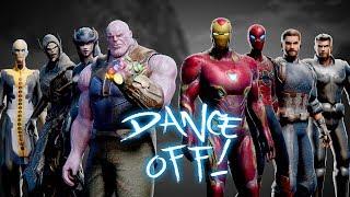 AVENGERS vs. THANOS | Infinity War DANCE-OFF!