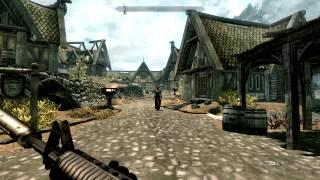 Обзоры модов на Skyrim(огнестрельное оружие)