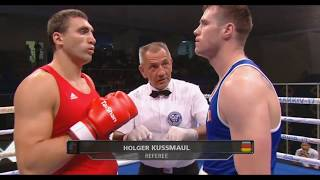 ЧЕ-2017 (91kg) Виктор Выхрист (UKR) – Дин Гардинер (IRL)