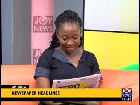Menzgold's Accounts Frozen   AM Show Headlines on JoyNews 16 1 19 1