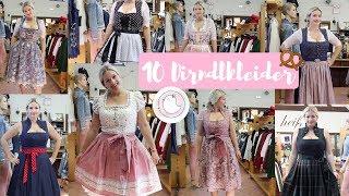 10 Dirndl Kleider Größe 40 - Welches passt am besten?