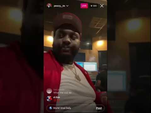 Detroit Peezy breaks down Life inda Bin While ina Studio Workin on New Project