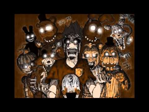 Anti nightcore- Die in a fire [Five nights a freddy's 3 song] (видео)